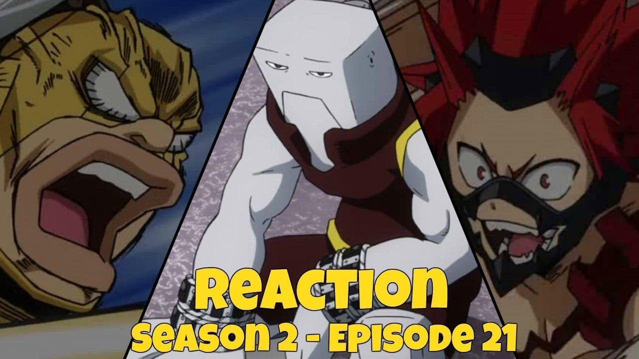 My Hero Academia Reaction Students Vs Teachers S2 Episode 21