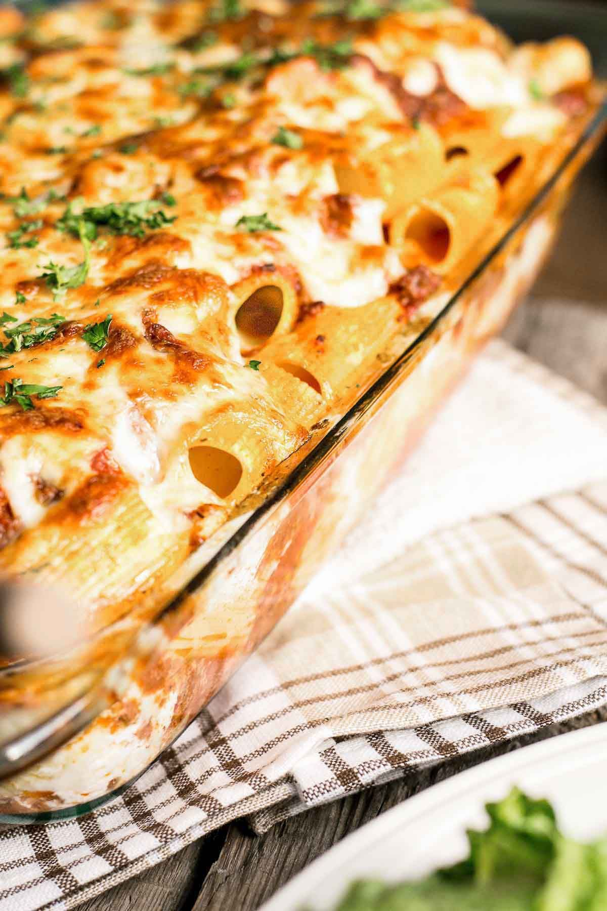 Baked Ziti With Sour Cream Food Doodles Baked Pasta Dishes Sour Cream Pasta Baked Ziti