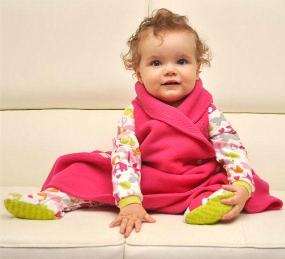 The Sleep N Cuddle Wrap Fleece Toddler Sleep Sack And Wearable Baby