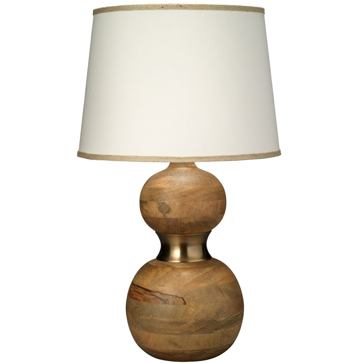 Bandeau Table Lamp By Jamie Young Company 1band Tlna 2cone T966lg Table Lamp Wood Natural Table Lamps Table Lamp