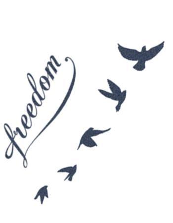 Freedom Flying Birds Freedom Bird Tattoos Small Bird Tattoos Freedom Tattoos