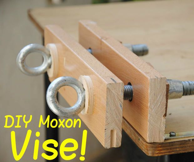Make Your Own Bench Vise In 2019 Wood Working Used