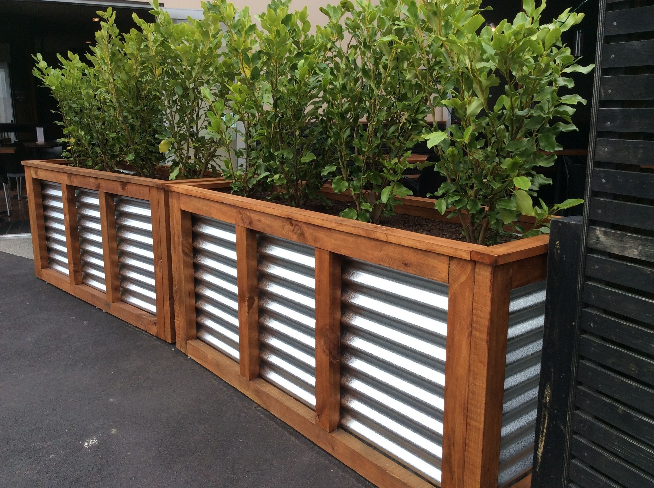 Amazingly Creative Long Planter Ideas For Your Patio 33 Diy Planters Outdoor Long Planter Patio Planters