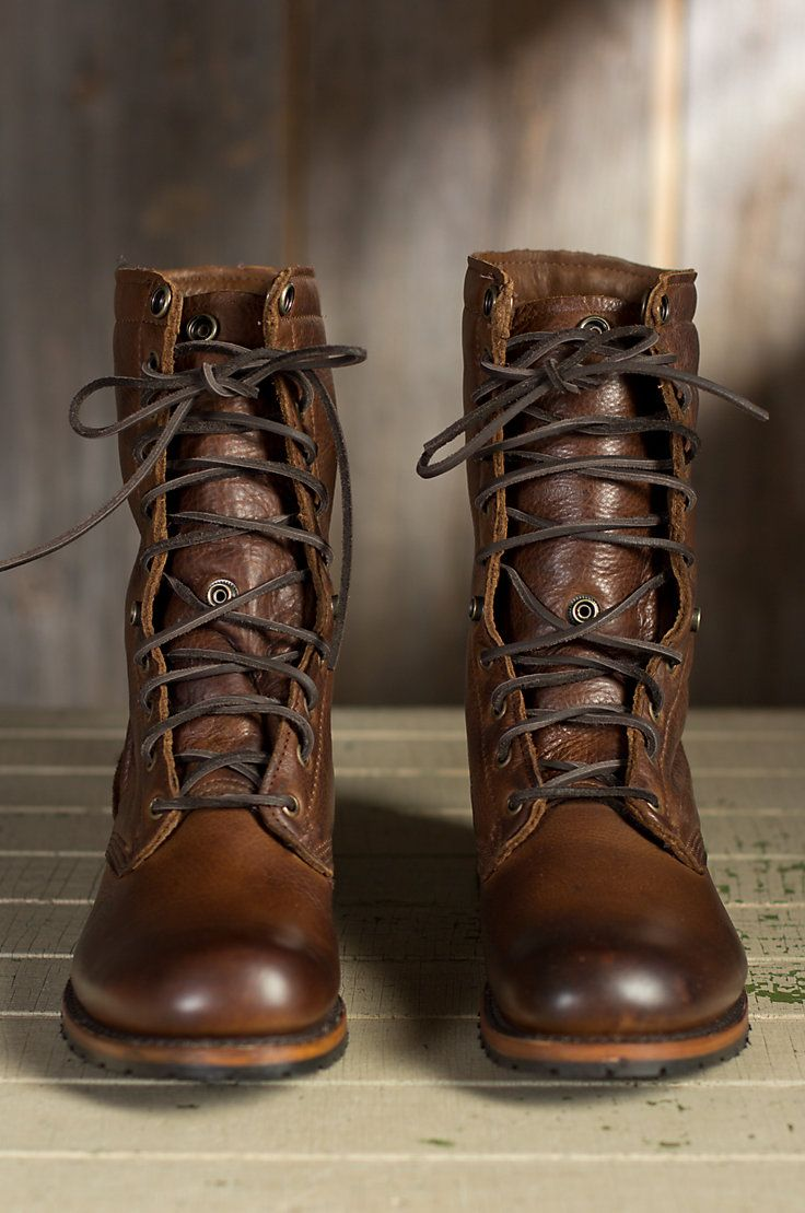 Men S Walk Over Ian Fold Over Leather Jump Boots In 2019