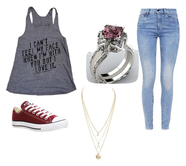 """""""Cant feel my face"""" by andrewweaver333 ❤ liked on Polyvore featuring G-Star and Converse"""