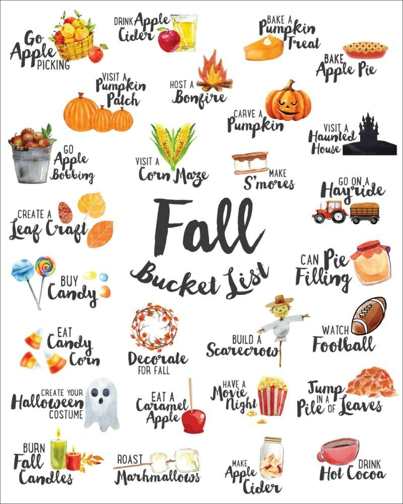We've combined our favorite ideas into this FREE Fall Bucket List which you can …