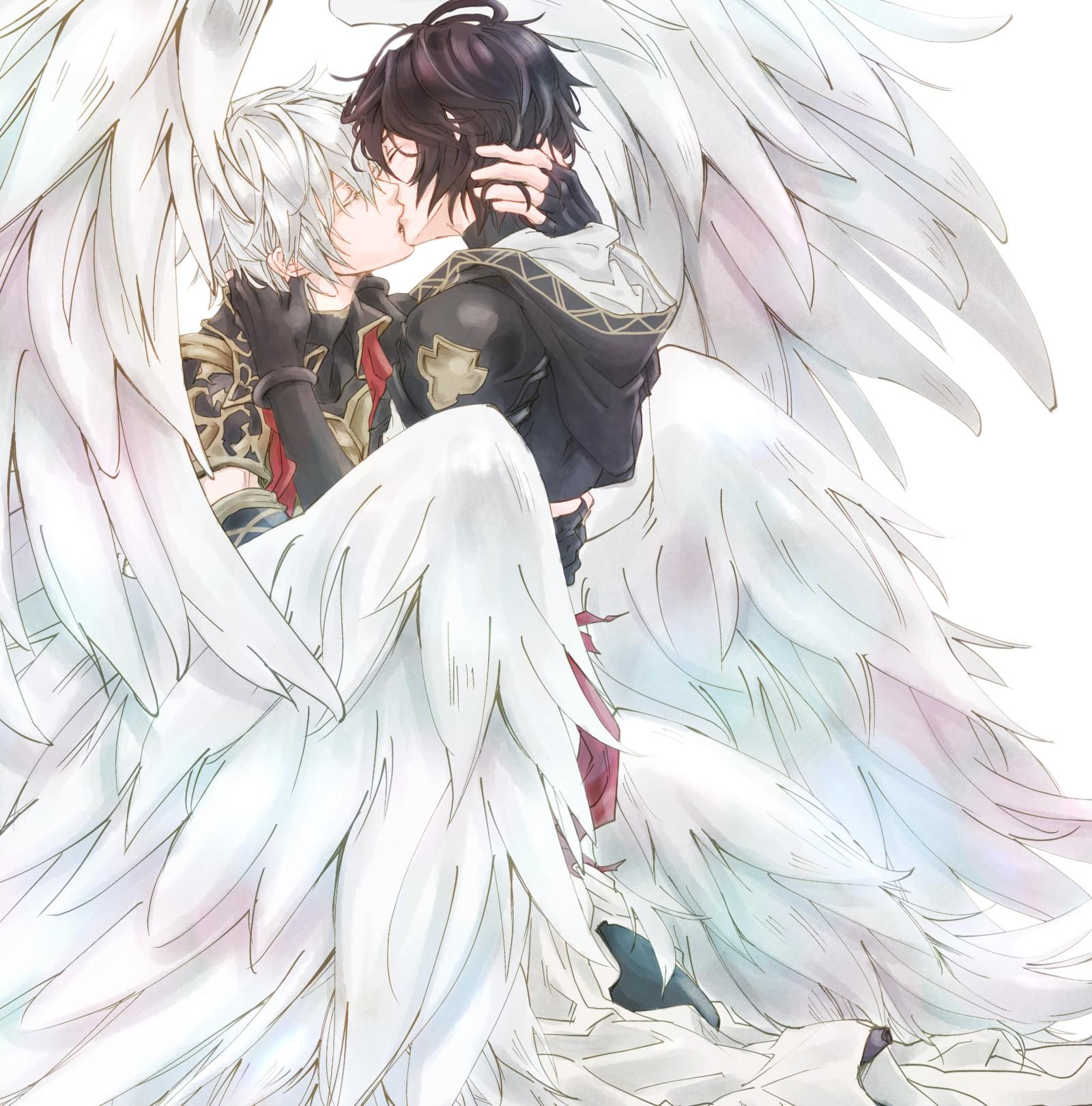 Pin by Briana Alvarado on Dan | Anime angel, Demon art ...
