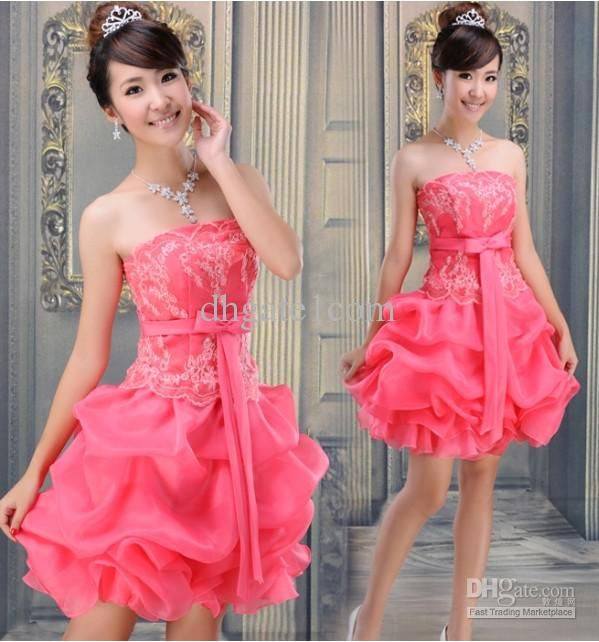prom dresses korean