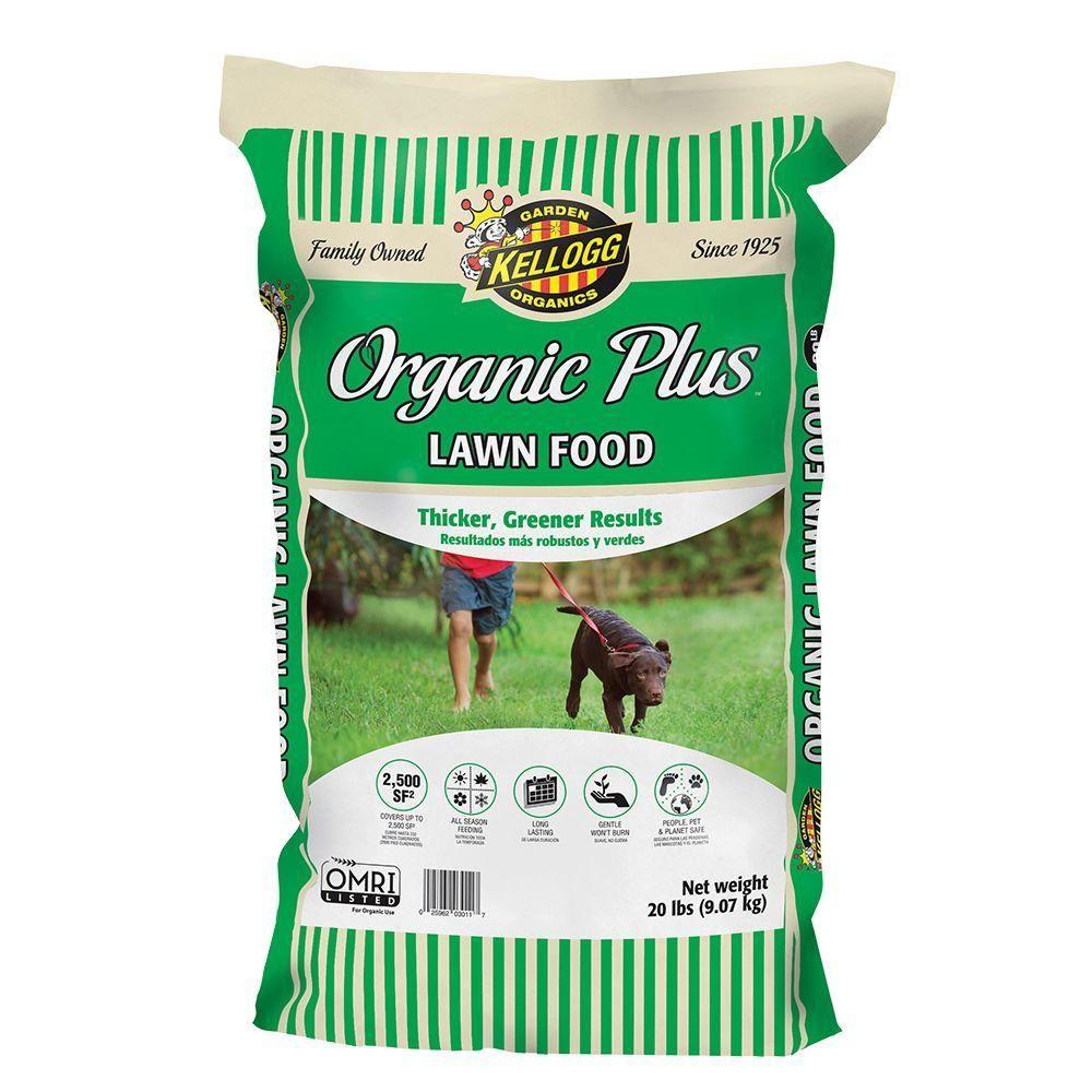 Kellogg Garden Organics 20 lbs. Organics Lawn Food3011
