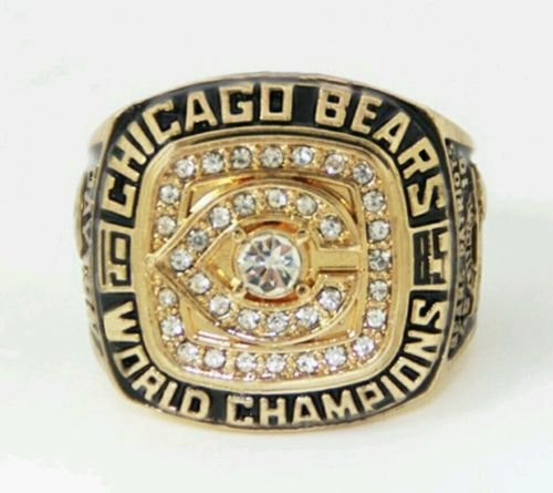 1985 Chicago Bears Super Bowl Championship Replica Ring Size 10 11 12 13 Championship Rings Chicago Bears Chicago Bears Super Bowl