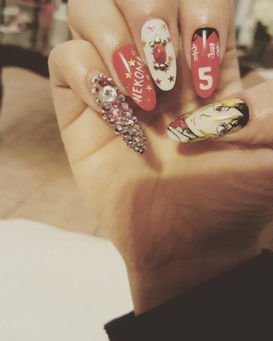 Comic Con Society Anime Nails Cute Nails Nails