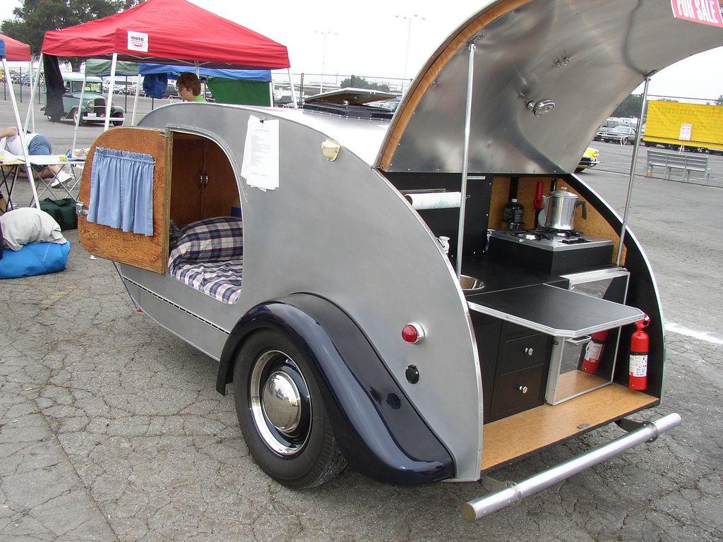 Vintage teardrop trailer | Teardrop Campers | Pinterest