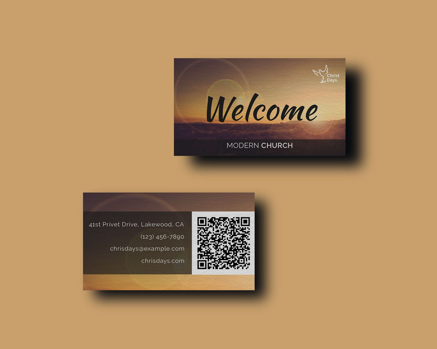 Business Card Design Corporate Ideny