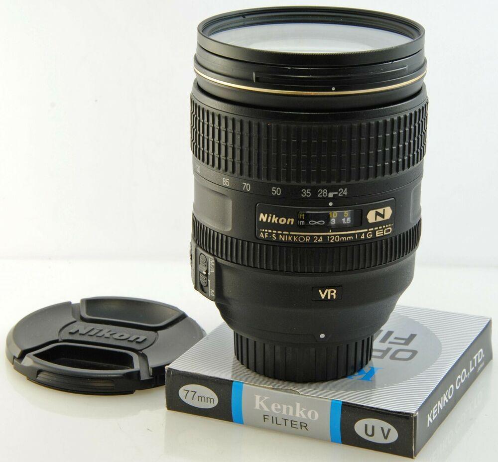 Nikon 24 120mm F4 G Ed Vr Nano Professional Zoom Uk Seller Read Description Nikon Stuff To Buy Kenko