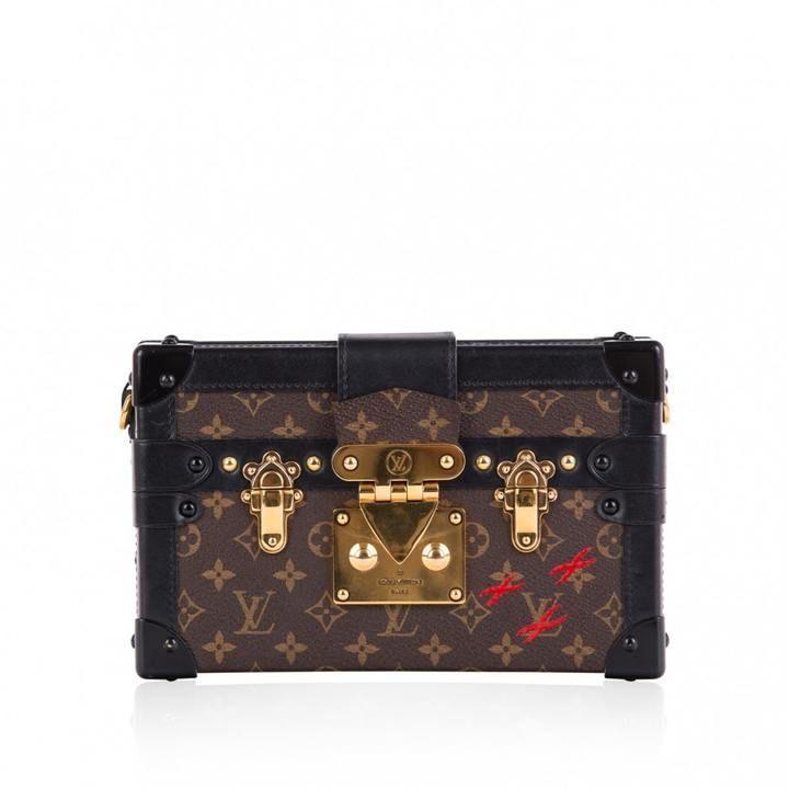 aca867ea06aa Louis Vuitton Petit Malle cloth crossbody bag
