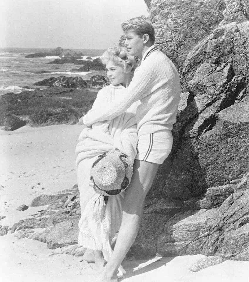 """""""A Summer Place"""" - Sandra Dee and Troy Donahue"""