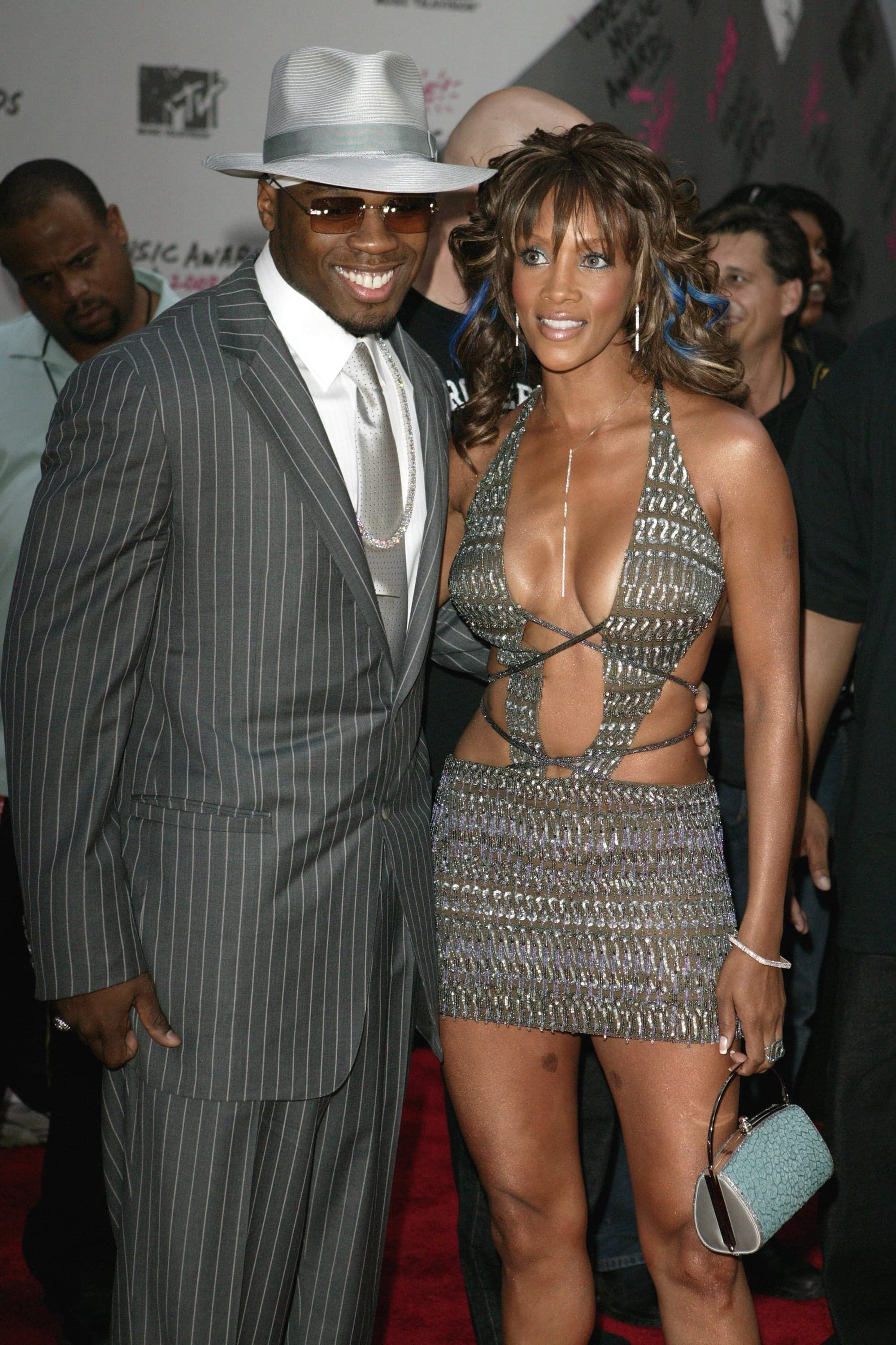 50 Cent and Vivica A  Fox, 2003 | Video Music Awards