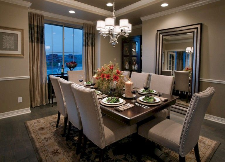 79+ Beautiful Dining Room Ideas Dining room Pinterest Dining
