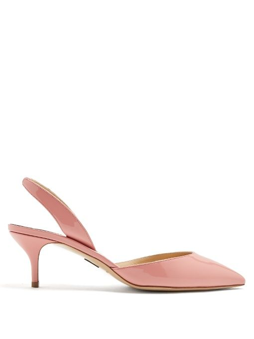Rhea sling-back pumps - Pink & Purple PAUL ANDREW CKY96