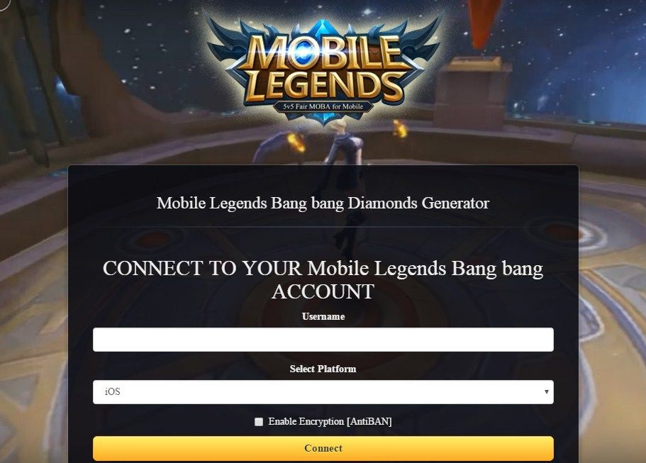 Mobile Legends Bang bang Hack Tool Features Add 1 000 000