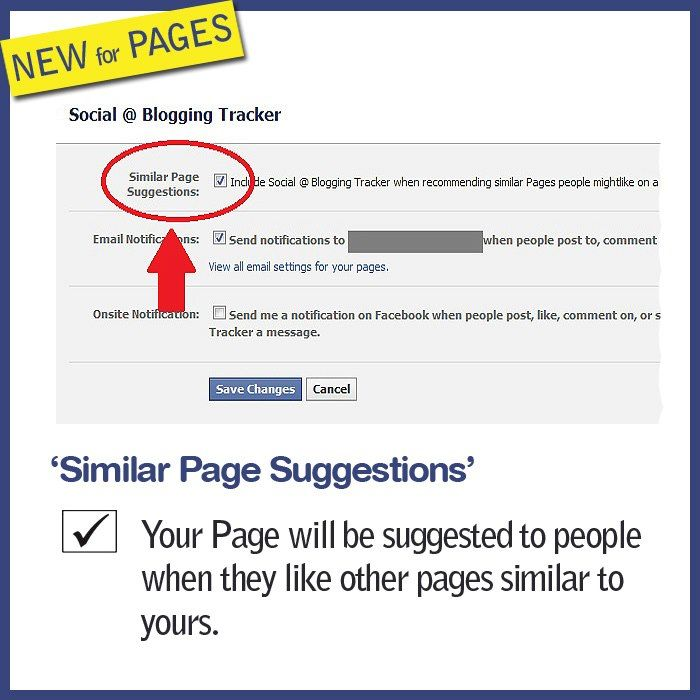 More Visibility for your Facebook Page: Go to your Edit Page