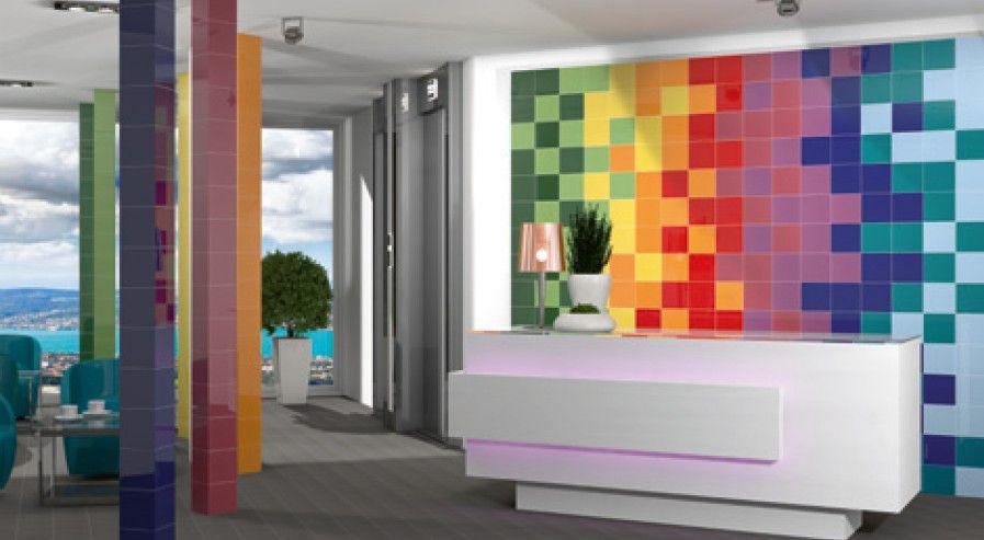 Stunning Idee Salle De Bain Coloree Photos  Amazing House Design