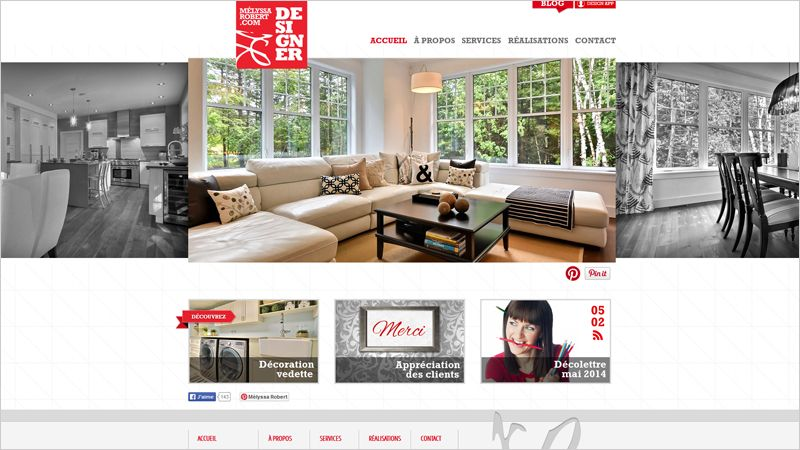 25 Trendy Websites With Header Images Interior Design Companies