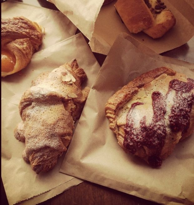 French pastries at La Voie Francaise