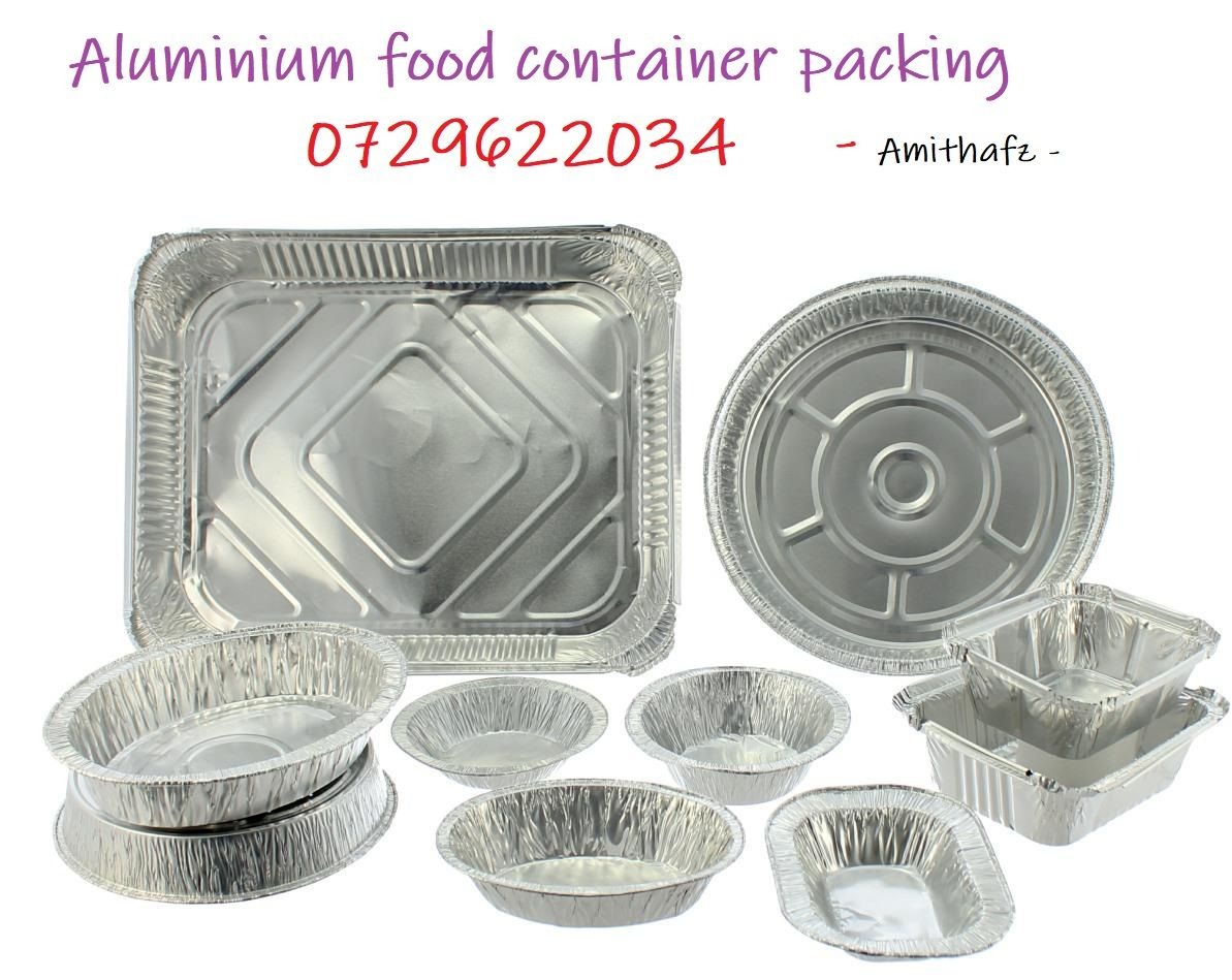 Place To Buy Aluminium Food Packaging Food Containers With Lid