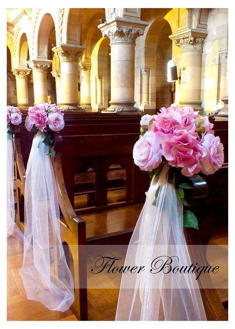Flores Artificiales Francesas Por Flower Boutique Bodas Church