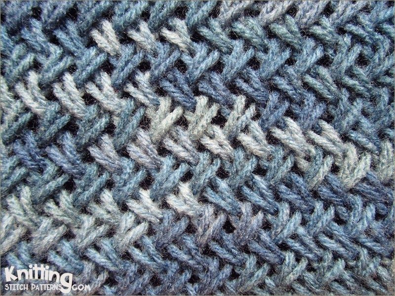 The Criss-Cross stitch is very similar to herringbone stitch and it ...