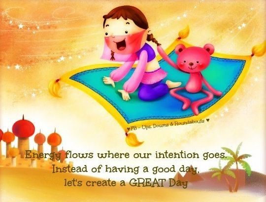 Create A Great Day Quote Via Ups Downs Roundabouts At Www Facebook Com Upsdownsroundabouts Great Day Quotes Work Quotes Optimism Quotes