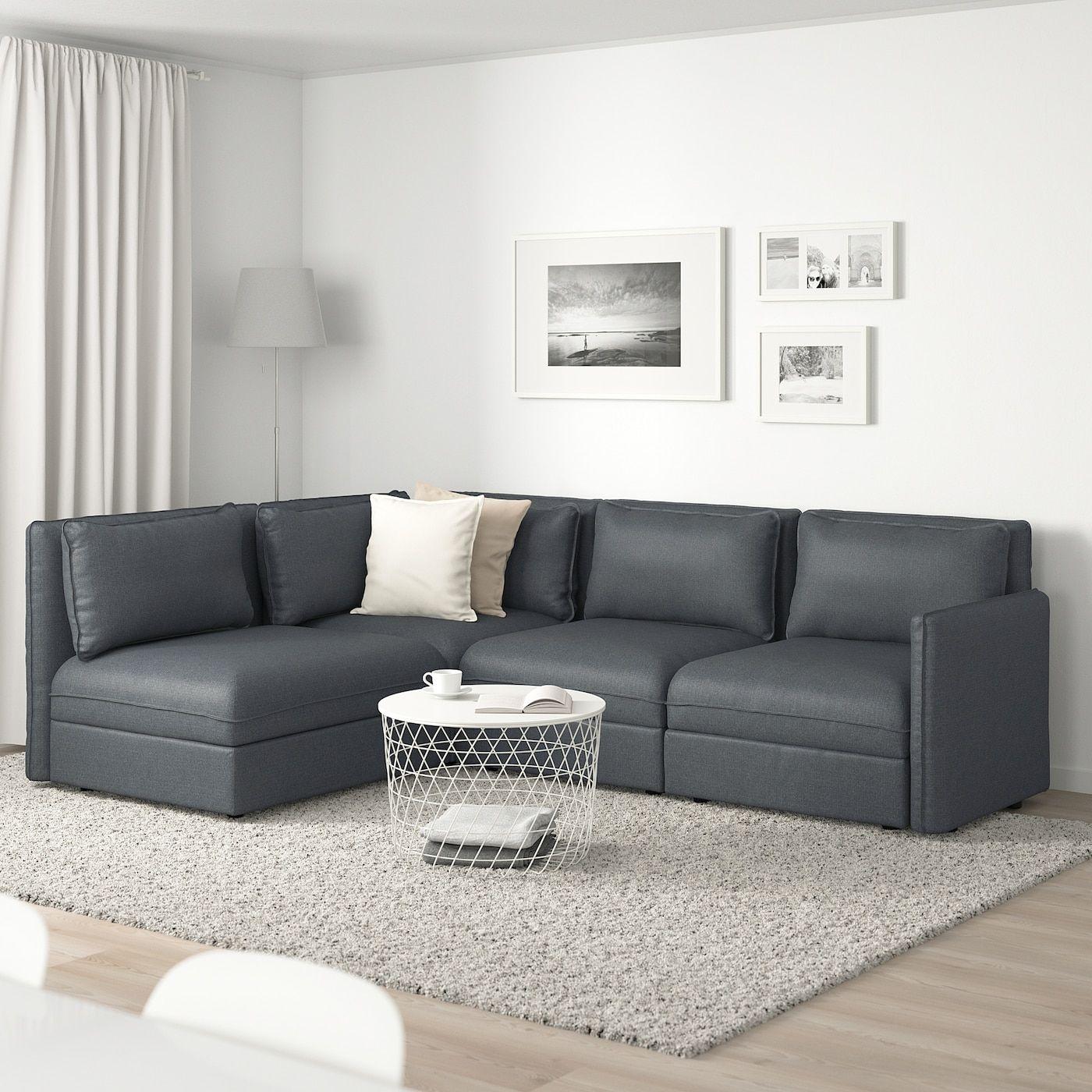 Vallentuna Modular Corner Sofa 3 Seat With Storage Hillared