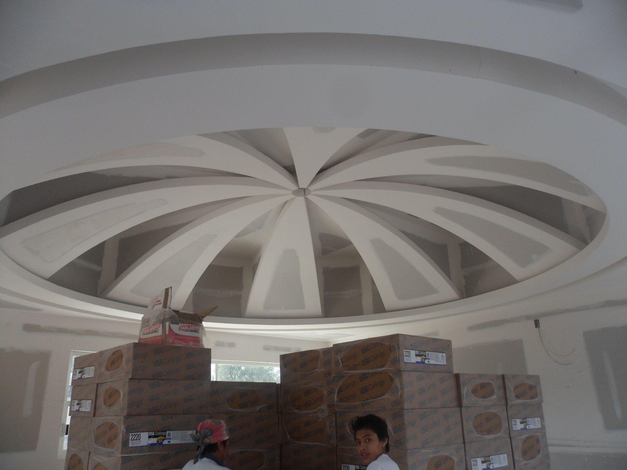 Plafones elaborado con Panel Mca Tablaroca™ en Obra Guarderia de ...