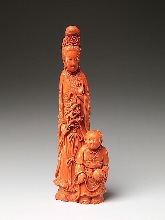 Daoist Immortal and Boy Period: Qing dynasty (1644–1911) Date: 19th century…
