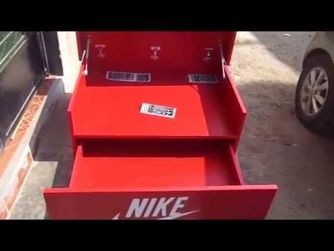 Building a Giant Nike Air Jordan Mega Shoebox The