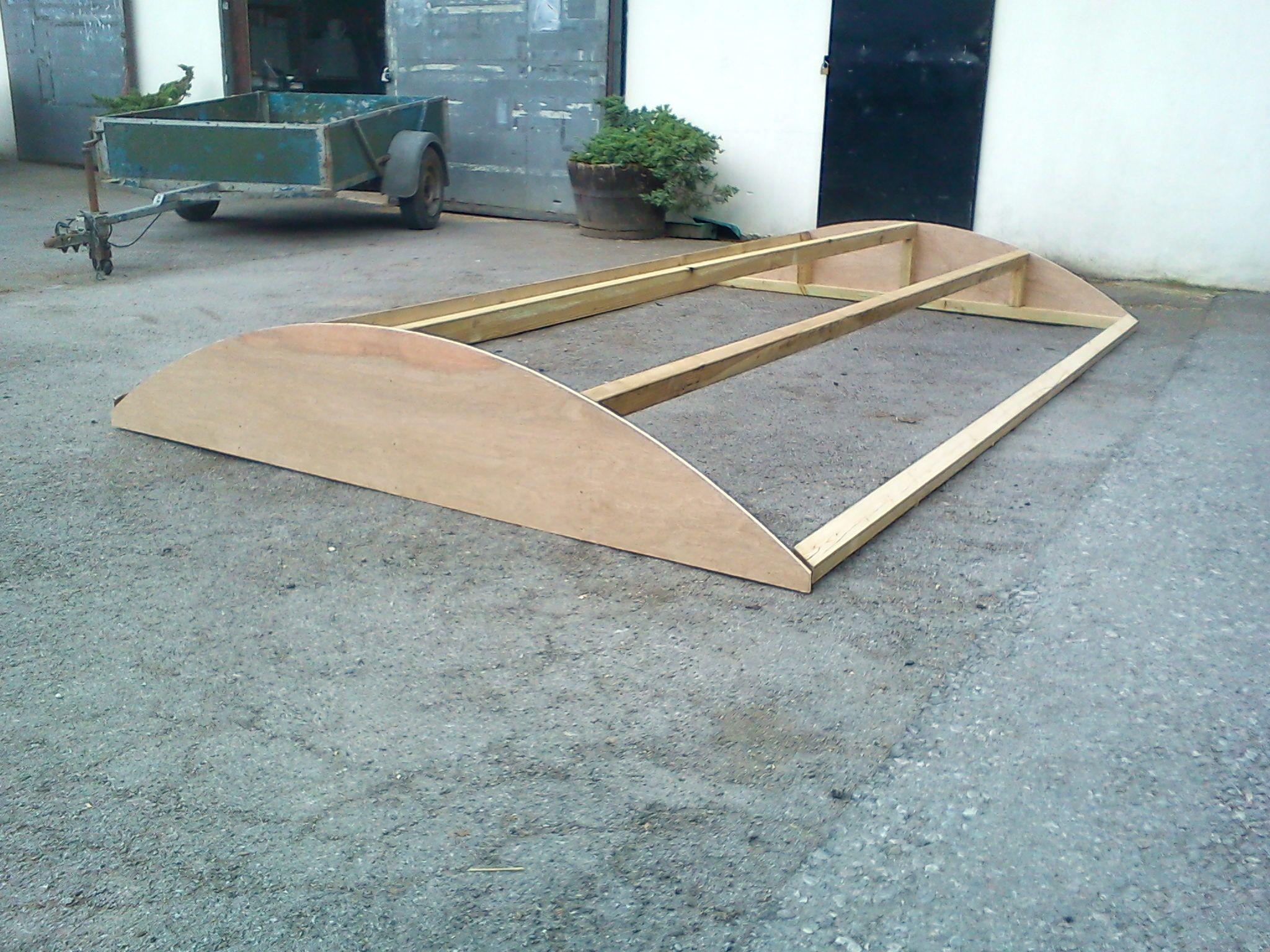 Roof Kit Diy Projects Oak Trim Shepherds Hut