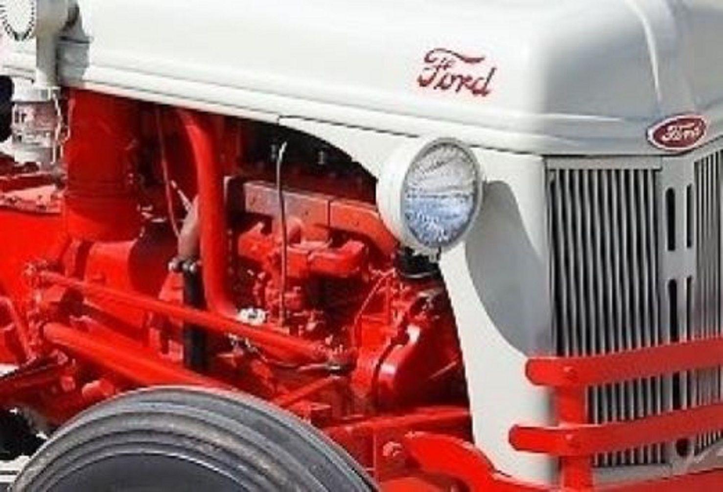 ford tractor 2n 8n 9n engine overhaul kit in frame ford tractors rh pinterest com