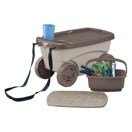 Suncast Garden Scooter Cart