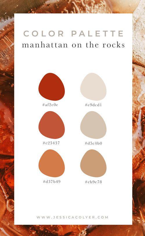 4 Cozy Color Palettes for Autumn — Jessica Colyer | Designer, Brand Strategist & Creative Studio
