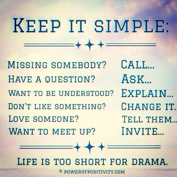 Keep it SIMPLE quote (With images) | Inspirational words, Quotes, Words