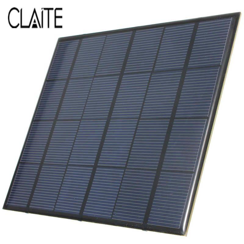 Vendita Calda 3.5 W 6 V 583mA Silicio Monocristallino Epossidica Mini  Pannello Solare Modulo Solare FAI