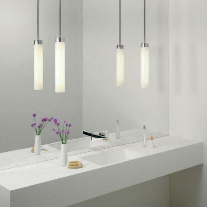 comment choisir le luminaire pour salle de bain nos propositions en 58 photos - Suspension Salle De Bain Zen