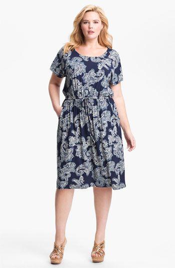 4a8c01932df Lucky Brand Paisley Dress (Plus)