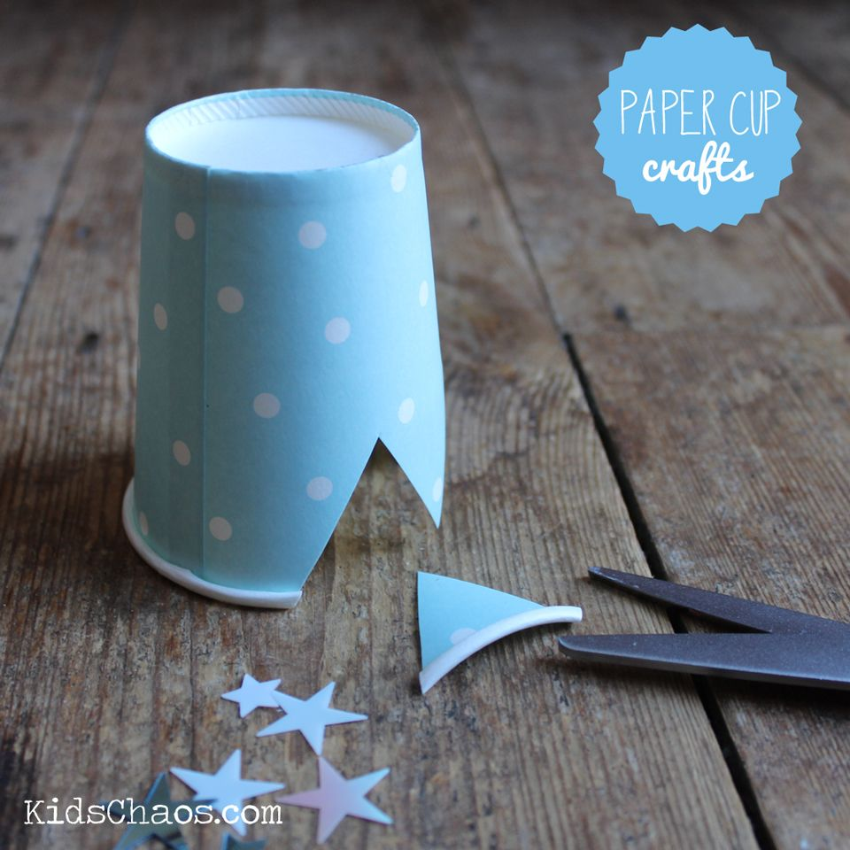 Frozen crown craft paper cup craft brownie general crafts frozen crown craft paper cup craft jeuxipadfo Image collections