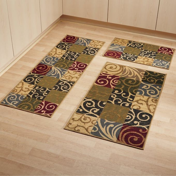 3 Piece Palazzo Rug Set With Images Rug Sets Rugs