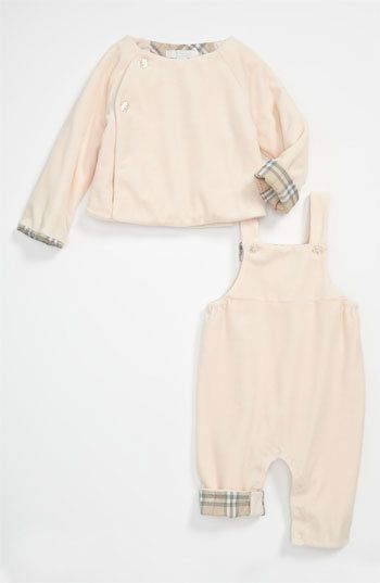 Burberry 'Blair' Velour Cardigan &...    $110.55