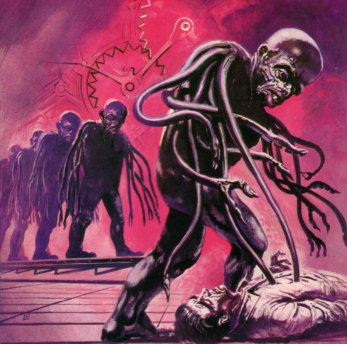 Book Cover Art, Old Comic Books, 70s Sci