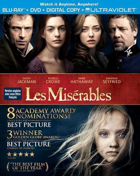 Misérables,les(2012)(bd+dvd)