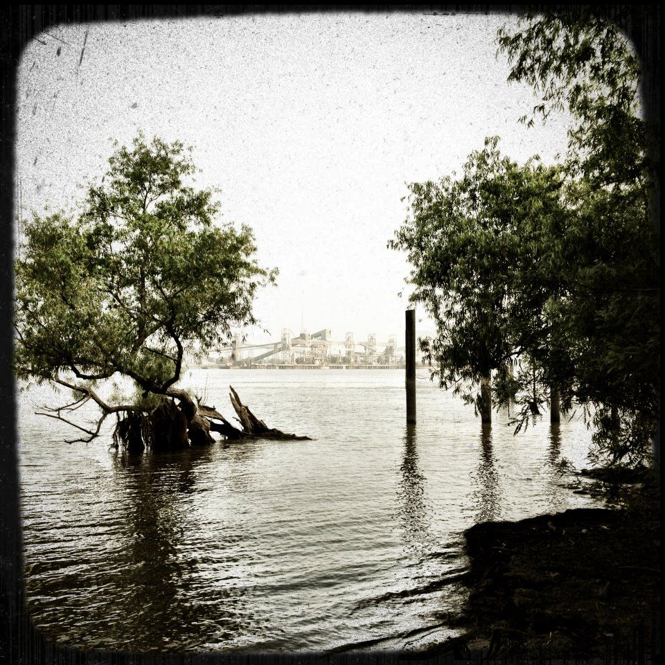 the Mississippi River, New Orleans 6/9/12 Christopher Bryson